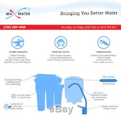 100 GPD Residential Drinking 5 stage Reverse Osmosis System Max Water USA Filter