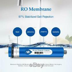 10PCS 24gpd RO Membrane Replacement Fit Standard Undersink ReverseOsmosis System