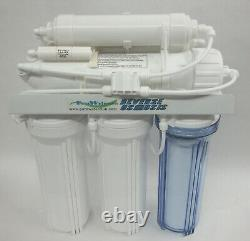 10 6 stage 50-200 GPD Reverse Osmosis RO DI drinking Water Filter system