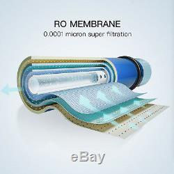10 Stage 100 GPD Undersink Reverse Osmosis RO Water Filter System Alkaline pH+