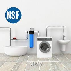 20 Big Blue Whole House Water Filter System for Home RO Water Softener System