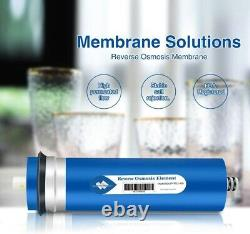 3 Pack 400GPD RO Membrane Reverse Osmosis System Drinking Water Purifier Filters