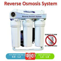 400 GPD (RO) Reverse Osmosis System Pumped and Floor Stand