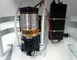 400 GPD Reverse Osmosis Water Filter System with heavy duty stand & Booster Pump