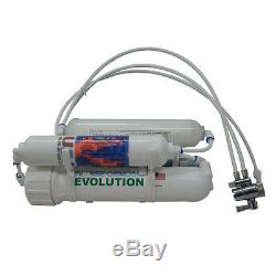4-stage Alkaline Countertop Reverse Osmosis RO Water Purification System, 100 GPD