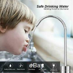5Stage Reverse Osmosis Water Filtration System 75GPD Water Softener for Kitchen