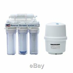 5/11 Stage Reverse Osmosis Drinking Water System RO Home Purifier FILTER KJ