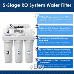 """4 x Finerfilters 10/"""" GAC Activated Carbon Filter Water For Reverse Osmosis"""