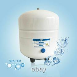 5 Stage 75 GPD Reverse Osmosis Pure Water Filter System with 3.2G Storage Tank T
