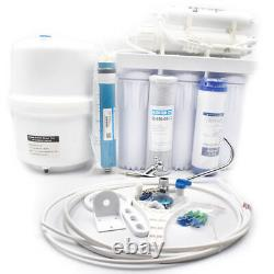 5 Stage Drinking Reverse Osmosis System PLUS Extra 7 Express Water Filters Great