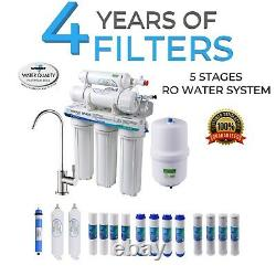 5 Stage Home Drinking Reverse Osmosis System 15 Total Drinkpod RO Water Filters