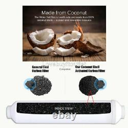 5 Stage Home Drinking Reverse Osmosis System Coconut Shell Carbon Filter