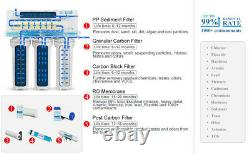 5 Stage Home Drinking Reverse Osmosis System PLUS Extra 6 Express Water Filters