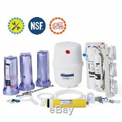 5 Stage Home Drinking Reverse Osmosis System Water Purifier 50G RO Water Filter