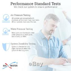 5 Stage Home Drinking Reverse Osmosis System With Total 12 RO Filters 100 GPD