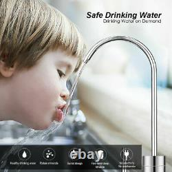 5 Stage Reverse Osmosis Drinking Water Filter System 75 GPD RO Home Purifier