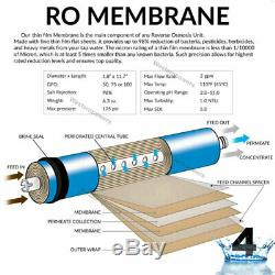 5 Stage Reverse Osmosis Drinking Water Filtration System Clear + 7 Extra Filters