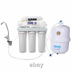 5 Stage Reverse Osmosis Drinking Water System RO Home Purifier Complete System