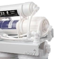 5 Stage Reverse Osmosis RO System Water Filter With Alkaline Filter 50GPD