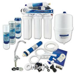 5 Stage Reverse Osmosis System Domestic RO Unit with Booster Pump Finerfilters