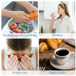 5 Stage Undersink Reverse Osmosis System Water Filter 100GPD / Kitchen Purifier