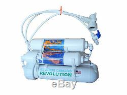 5-stage Portable Reverse Osmosis RO System with DI 0PPM & KDF filter, USA build