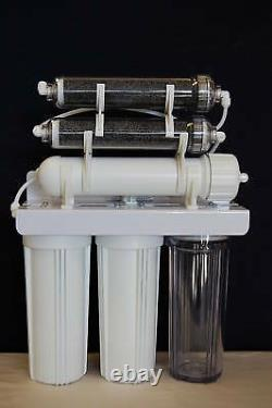 6 Stage 75 GPD Oceanic Aquarium Reef Reverse Osmosis DI Water Filter System