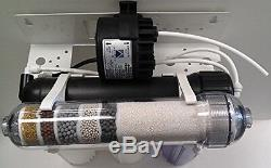 6 Stage Anti-oxidant Under Sink RO Drinking Water System + Patenet ERP 500 Pump