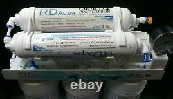 6 Stage Clear RO Water Filter System with 75 GPD Membrane