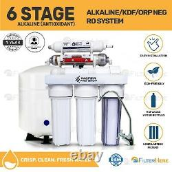 6 Stage Mineral Drinking Water (RO) Filter System + ERP 500 Pump Waste Reducer