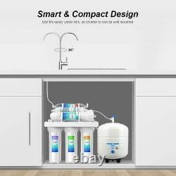 6 Stage Reverse Osmosis System T1 Alkaline Mineral pH+ Water Filtration System