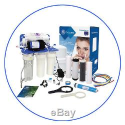 6 Stage Reverse Osmosis System with PUMPDrinking WaterRO UnitAquafilter75GPD