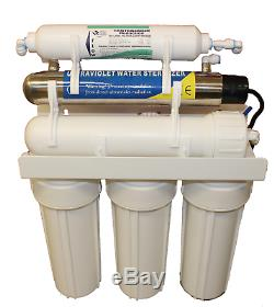 6 Stage Reverse Osmosis Ultra Violet Sterilizer Water Filter System Uv Ro GPD