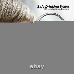 6-Stage Under Sink Reverse Osmosis Drinking Water Filter System Alkaline pH 75G