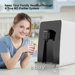 7000ml RO Reverse Osmosis Drinking Water Filter System Countertop Water Purifier