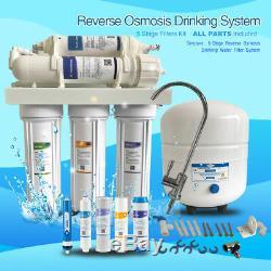 75 GPD Filtro De Agua De Osmosis Inversa de 5 etapas para su uso en el agua M-S