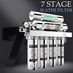7 Stage Water Purifier Filter Reverse Osmosis Drinking Water Filtration System