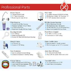 8 Stage Home Residential PH+ Alkaline Mineral Infrared Reverse Osmosis System