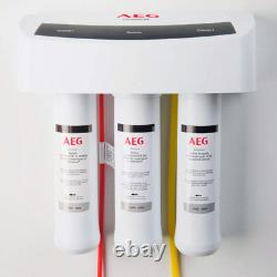 AEG 3-Stage Reverse Osmosis Under Sink Drinking Water Filtration System AEGRO