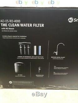 AO Smith 4-Stage Reverse Osmosis Water Filter System Under Sink