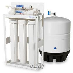 APEC 180 GPD Light Commercial Reverse Osmosis Water Filter System with 14G Tank