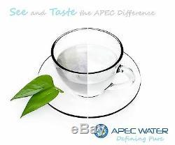 APEC 6 Stage 75 GPD UV Ultra Violet Sterilizer Reverse Osmosis System ROES-UV75