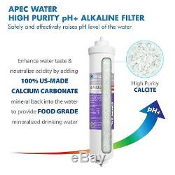 APEC Alkaline 90GPD Countertop Reverse Osmosis System With Case RO-CTOP-PHC
