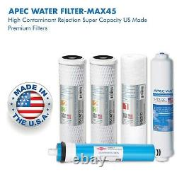 APEC US MADE 50 GPD Complete Replacement Water Filter For RO System FILTER-MAX45