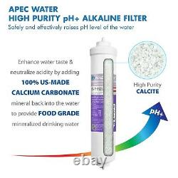 APEC WATER 4-Stage Alkaline 90 GPD Counter-top Reverse Osmosis System RO-CTOP-PH