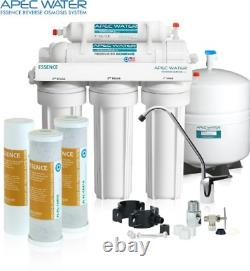 APEC Water Systems ROES-50 Essence Series Top Tier 5-Stage Certified Ultra Safe