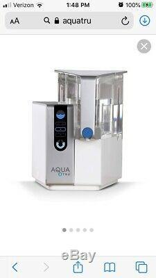AQUA TRU Countertop Water Filtration Purification System AT2010
