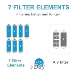 AUG 7 Stage Home Drinking Reverse Osmosis System Extra 7 Express Water Filters