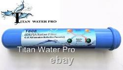 Alkaline Ionizer Neg Orp Reverse Osmosis Water Filter System 50 GPD 5 Stage RO