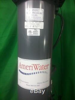 Ameriwater Dual Silex Reverse Osmosis Dialysis Water Filter Deionizer System